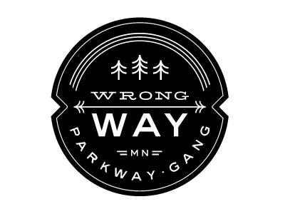 Dribbble - Mpls Bike Gangs / Wrong Way Parkway Gang by Allan Peters