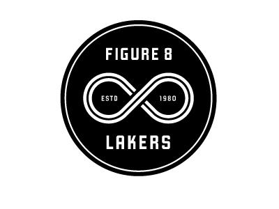 Dribbble - Mpls Bike Gangs / Figure 8 Lakers by Allan Peters