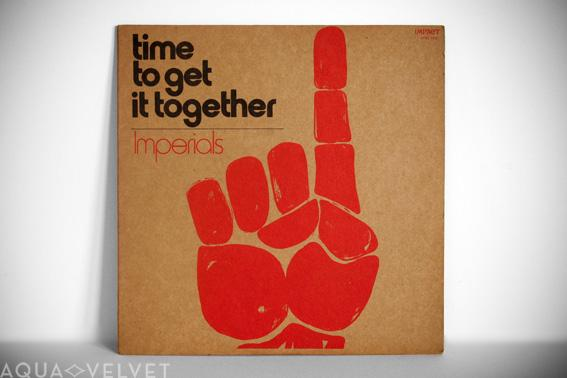 Modernist Album Covers, 1960s/70s / Aqua-Velvet