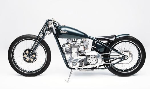Falcon Motorcycles : One of a Kind Motorcycles, 100% Designed, Engineered and Hand Made In House, Around Rare Iconic British Engines