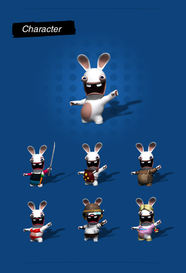 Rabbids Go Phone - Ubisoft