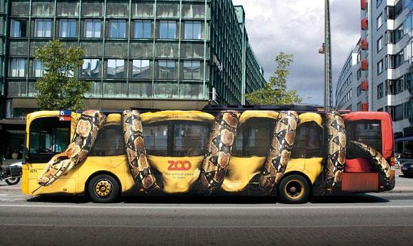 Creative Zoo Ad Campaigns ~ www.popgive.com
