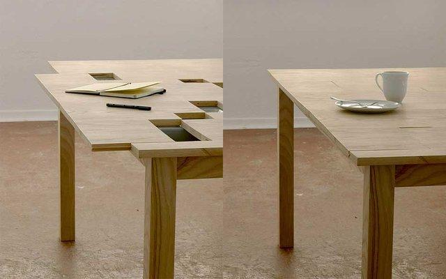 Fancy - Sliding Top TAB Table by Razy2