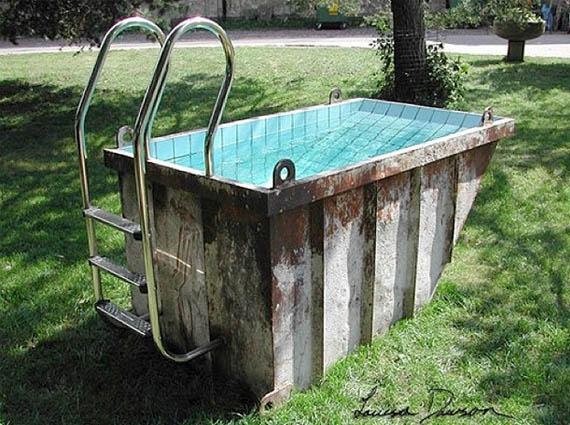No Diving: Dumpster Pools | Incredible Things