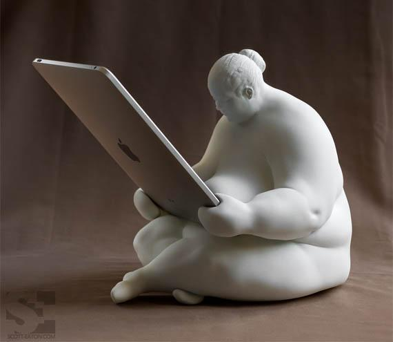 Venus of Cupertino iPad Docking Station | Incredible Things