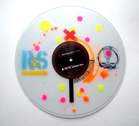 Custom vinyls and labels by legendary street artist Eric Orr — Lost At E Minor: For creative people