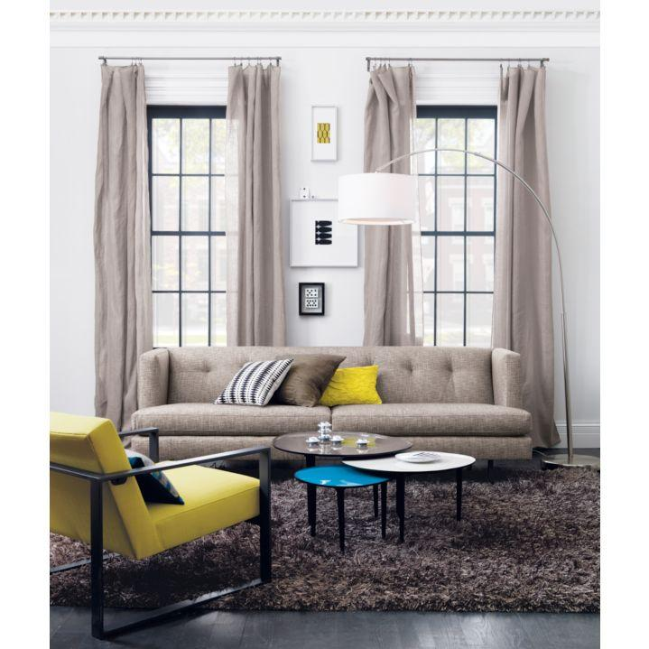 avec tweed sofa in sofas | CB2