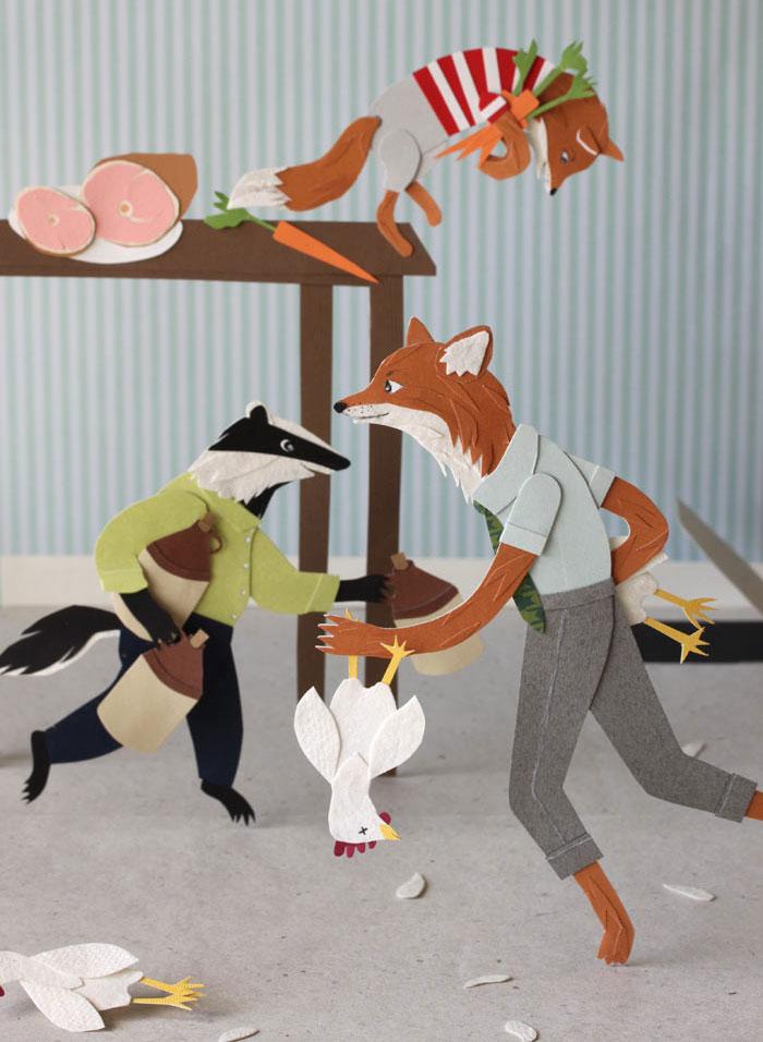 Roadside Projects : Cut Paper Art & Illustration by Jayme McGowan - Home