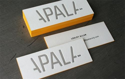 Designspiration — Edge Painting Can Make Your Business Cards Pop Up | Best Business Cards