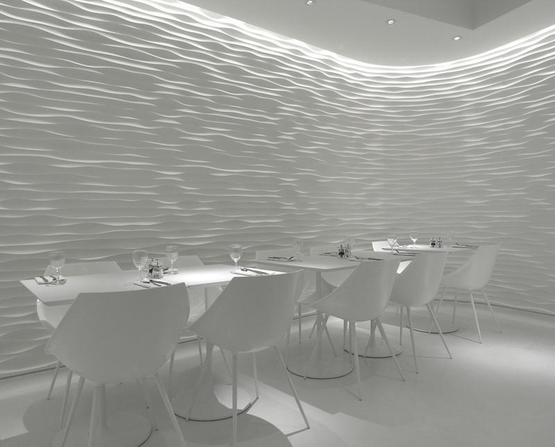 Looks like good Restaurant Interior Design by Pierluigi Pui