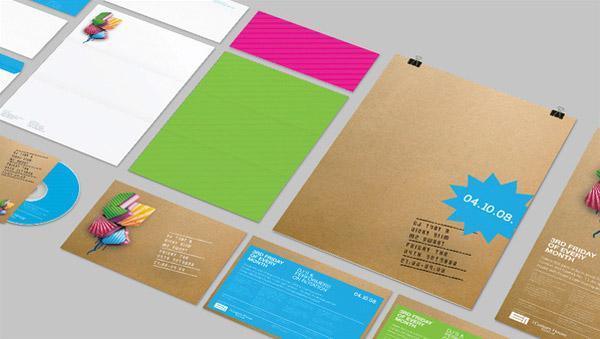 Looks like good Graphic Design Portfolio by Russell Flanders