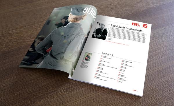 Looks like good Creatie Magazine Design by Momkai