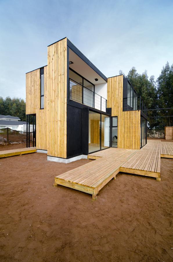Casa en Panel SIP / Alejandro Soffia Gabriel Rudolphy Soffia Rudolphy_SIP PANEL HOUSE 15 – Plataforma Arquitectura