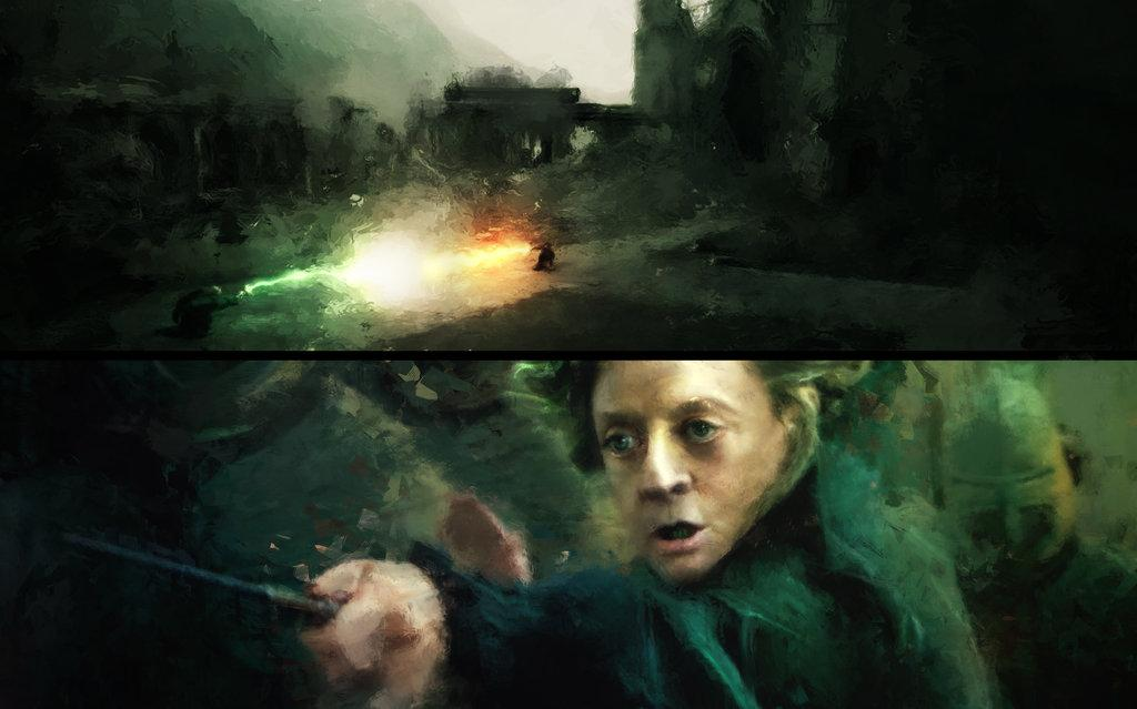 Deathly Hallows Color Studies by *TavenerScholar