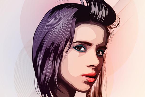 Looks like good Portrait Illustrations by Juan David Gómez