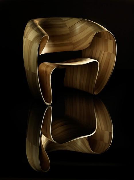 Un bon design est le génie viennent à la vie ... CHAISE / ruban par Tom Vaughan