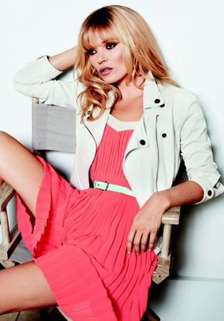 Mango Taps Kate Moss as the Face of Its SS2012 Campaign – POPSOP.COM. Brand news. Brand design. Package design. Branding agencies. Brand experts