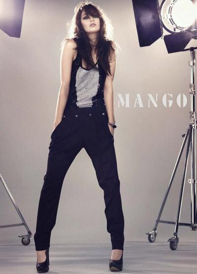 Mango Fall 2009! Daisy Lowe by Mariano Vivanco! - Campaigns and Daisy Lowe