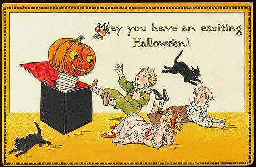 Vintage Halloween Ephemera: Inspiration by Karen Horton - design:related