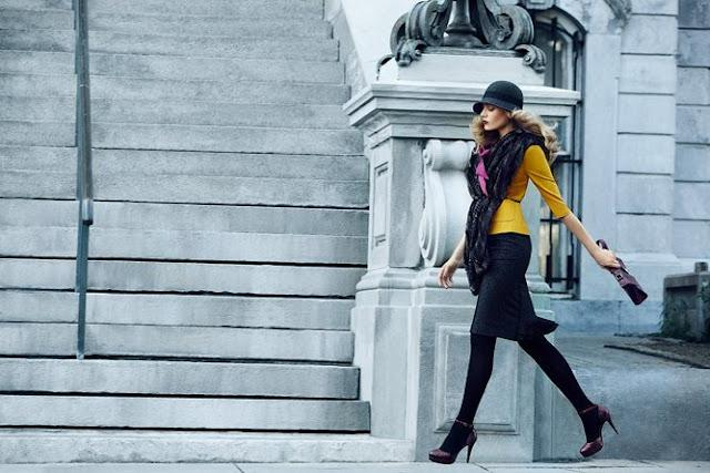 Pink Lemonade Design: Happy Friday + Fall Campaign by Le Chateau!