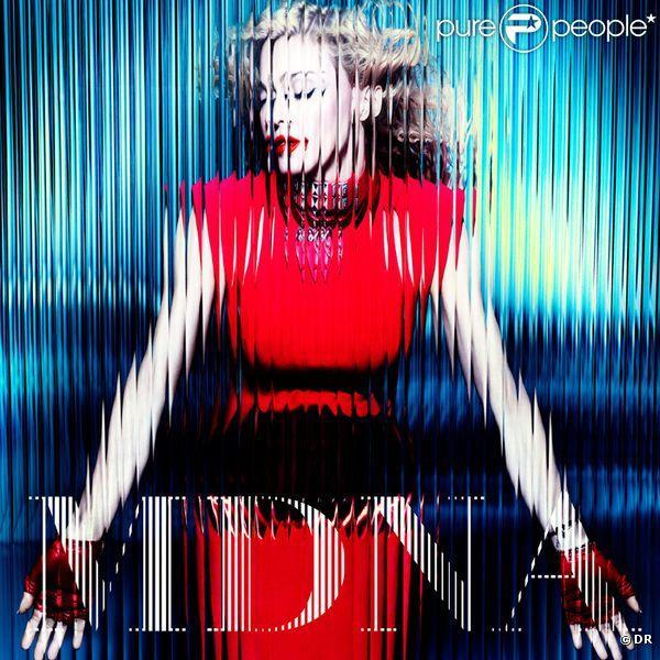 Madonna - pochette de l'album MDNA, version 12 titres - attendue le 26 mars 2012. – Photos Madonna