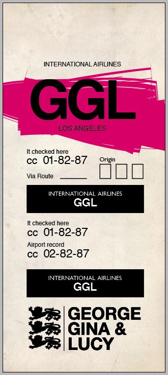 GEORGE GINA & LUCY / Hangtags