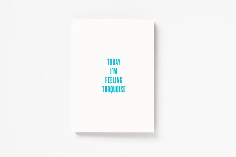 FPO: Today I'm Feeling Turquoise Pentagram Booklet
