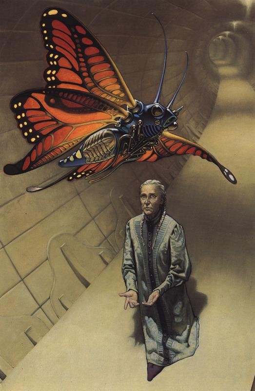 Mark Zug art and illustration - I, Robot: Ellison, Asimov, and some foreshadowing - Butterfly Bot