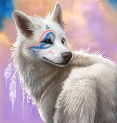 White wolf image by GeneralWildfire on Photobucket