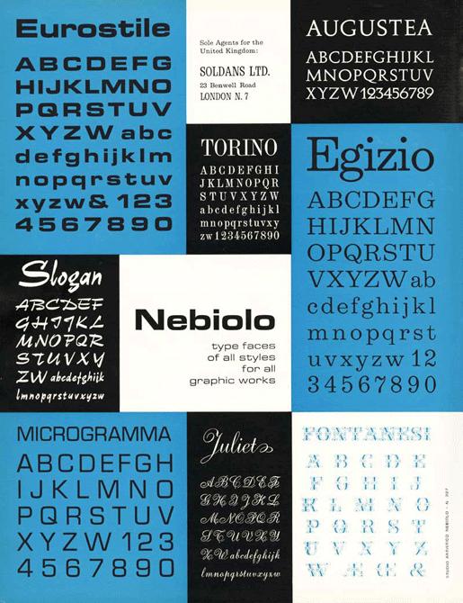 Aldo Novarese « Cooper Union Typography