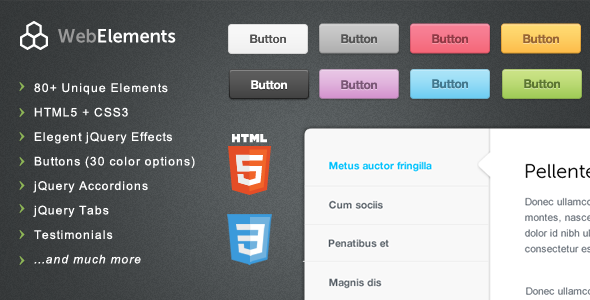 JavaScript - Web Elements - Buttons, Tabs, UI | CodeCanyon