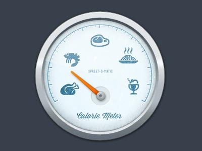 Calorie Meter by Dean Hudson