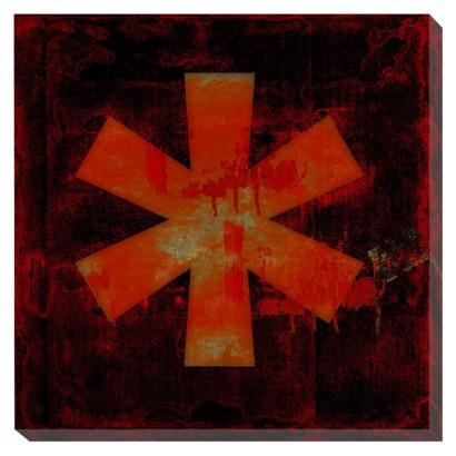 Asterisk Wall Decor - 16x16