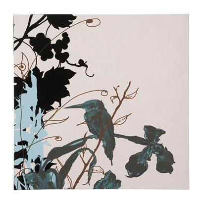 Kingfisher Canvas Wall Art - 24x24