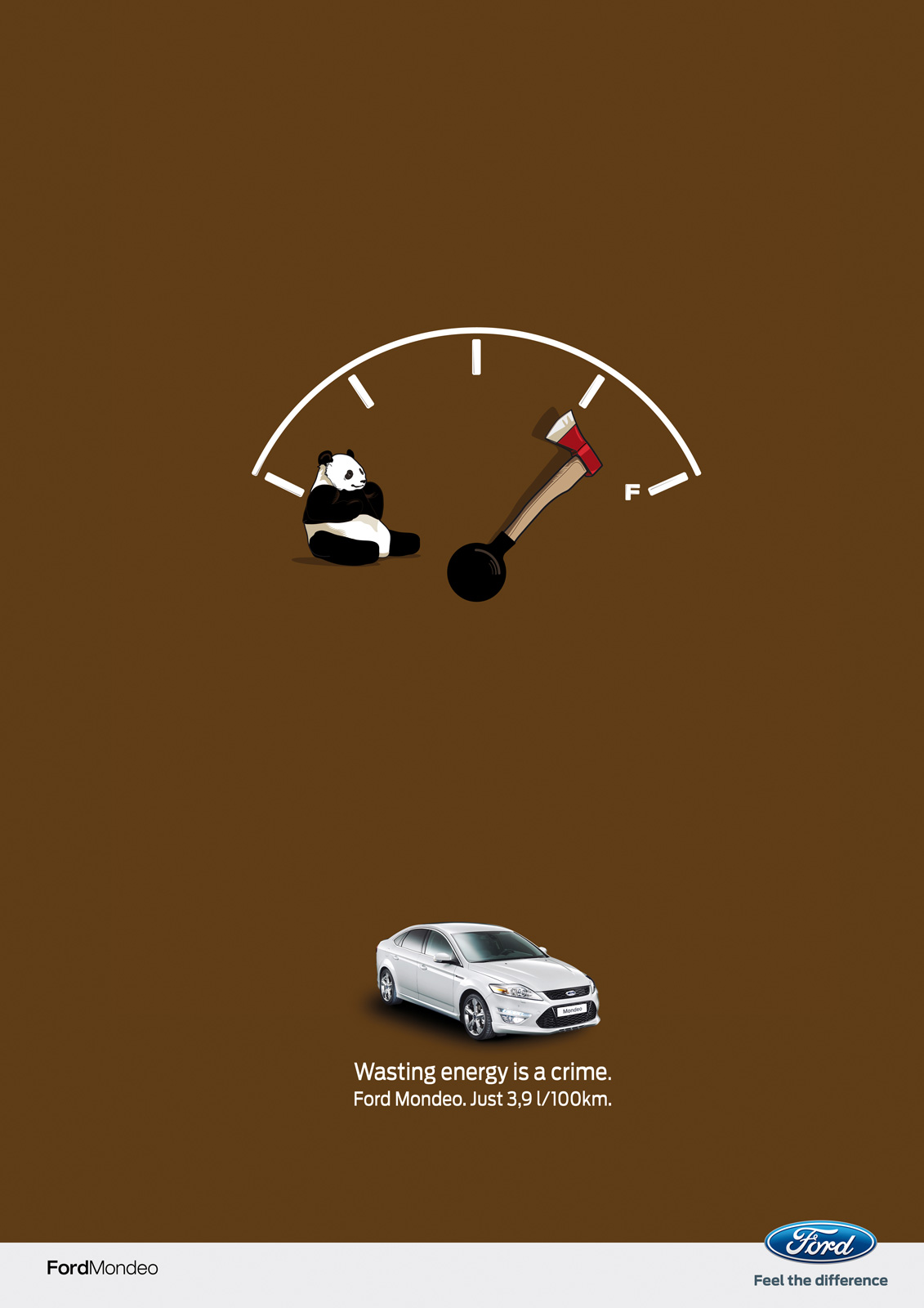 "Ford Mondeo: Panda | Ads of the Worldâ""¢"