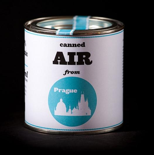 Designspiration — Onestep Creative - The Blog of Josh McDonald » Canned Air from Prague
