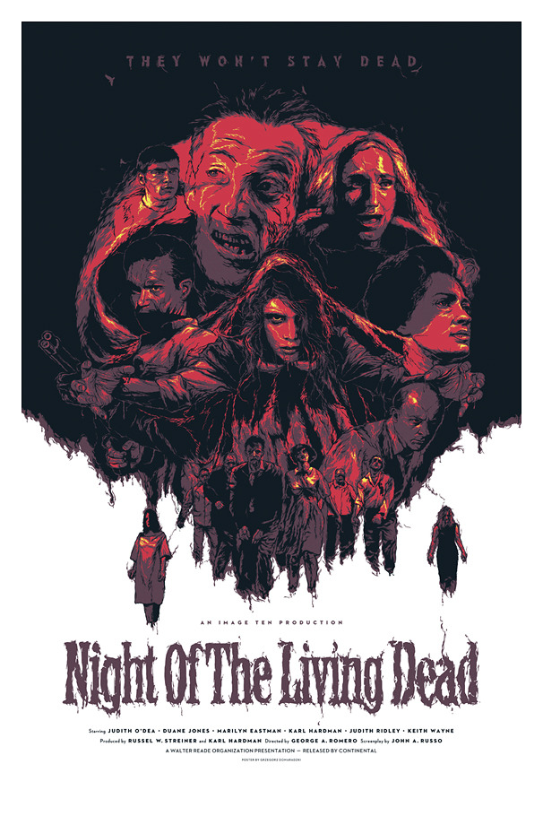 Kryptonite Prints and Apparel — NIGHT OF THE LIVING DEAD