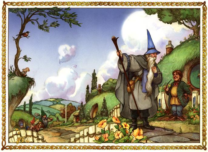David T. Wenzel - The Hobbit - page 1