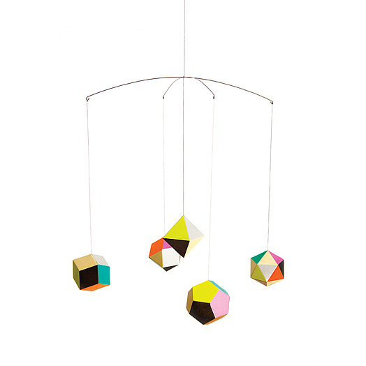 THEMIS MOBILE | Modern Design, Home Accent, Home Decor, Clara von Zweigbergk, Geometric Shapes | UncommonGoods