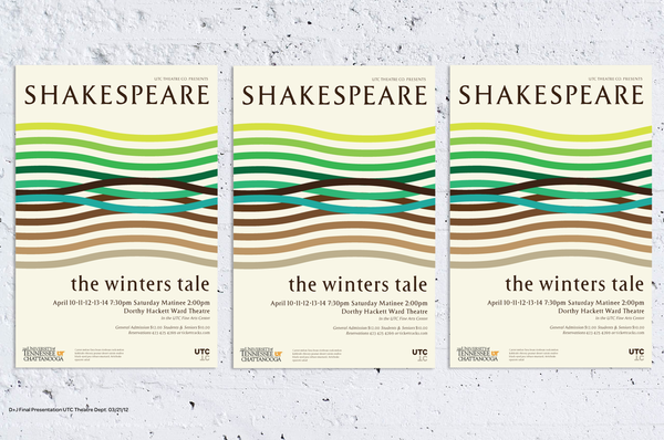 UTC Theatre Posters