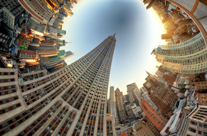 100 Photos Merge to Form Swirling 360-Degree Landscapes - My Modern Metropolis