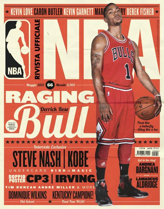 NAS CAPAS: RIVISTA UFFICIALE NBA