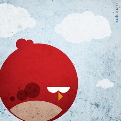 MINIMAL ANGRY BIRDS