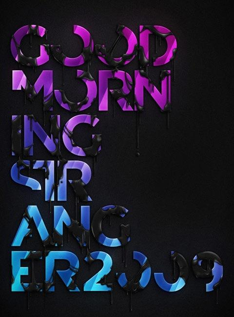 20 Truly Beautiful Typography Poster Designs | Creative Nerds