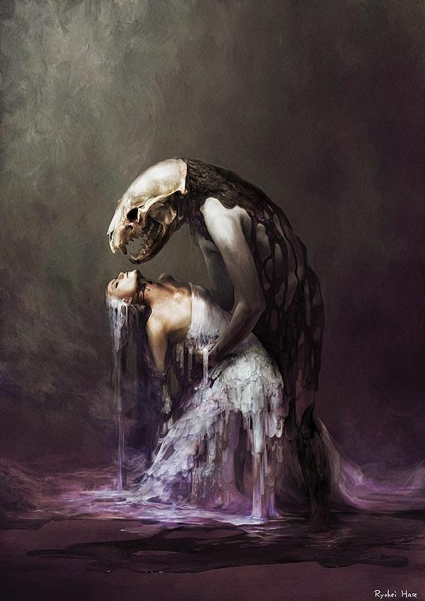 Dark Digital Drawings by Ryohei Hase | Who Designed It?
