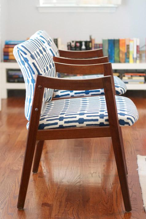 before & after: janis kristen's chair makeovers | Design*Sponge