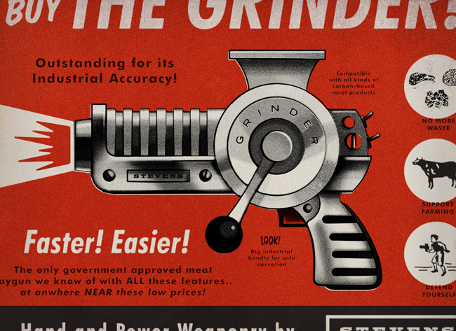 Raygun52 - The Armory - 020 // The Grinder by Matt Stevens