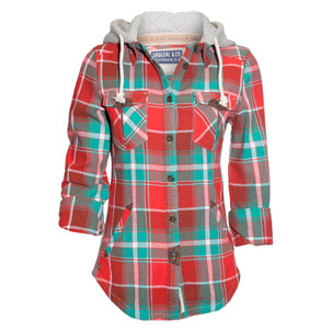 Soul Cal Deluxe Suede Lumberjack Shirt (Womens) | Buy Womens Tops & T-Shirts online from Republic