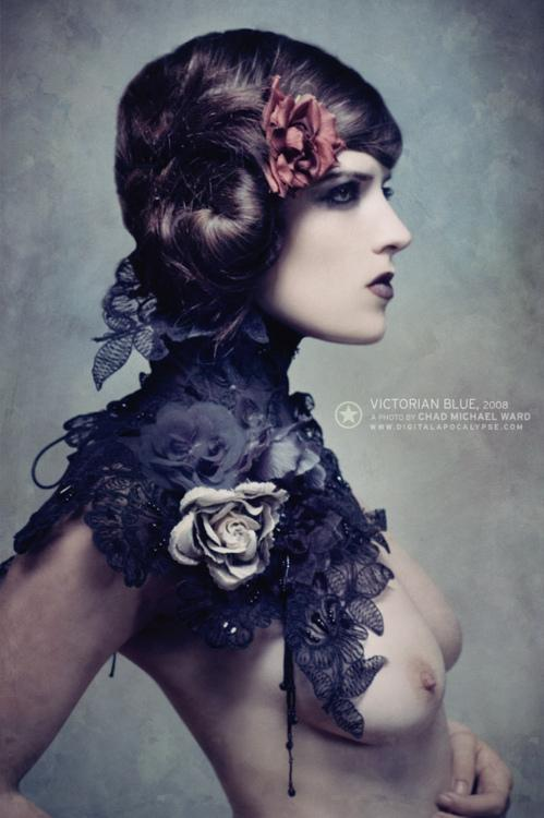 "Chad Michael Ward, ""Victorian Blue"" Model: Bad Charlotte One of my..."