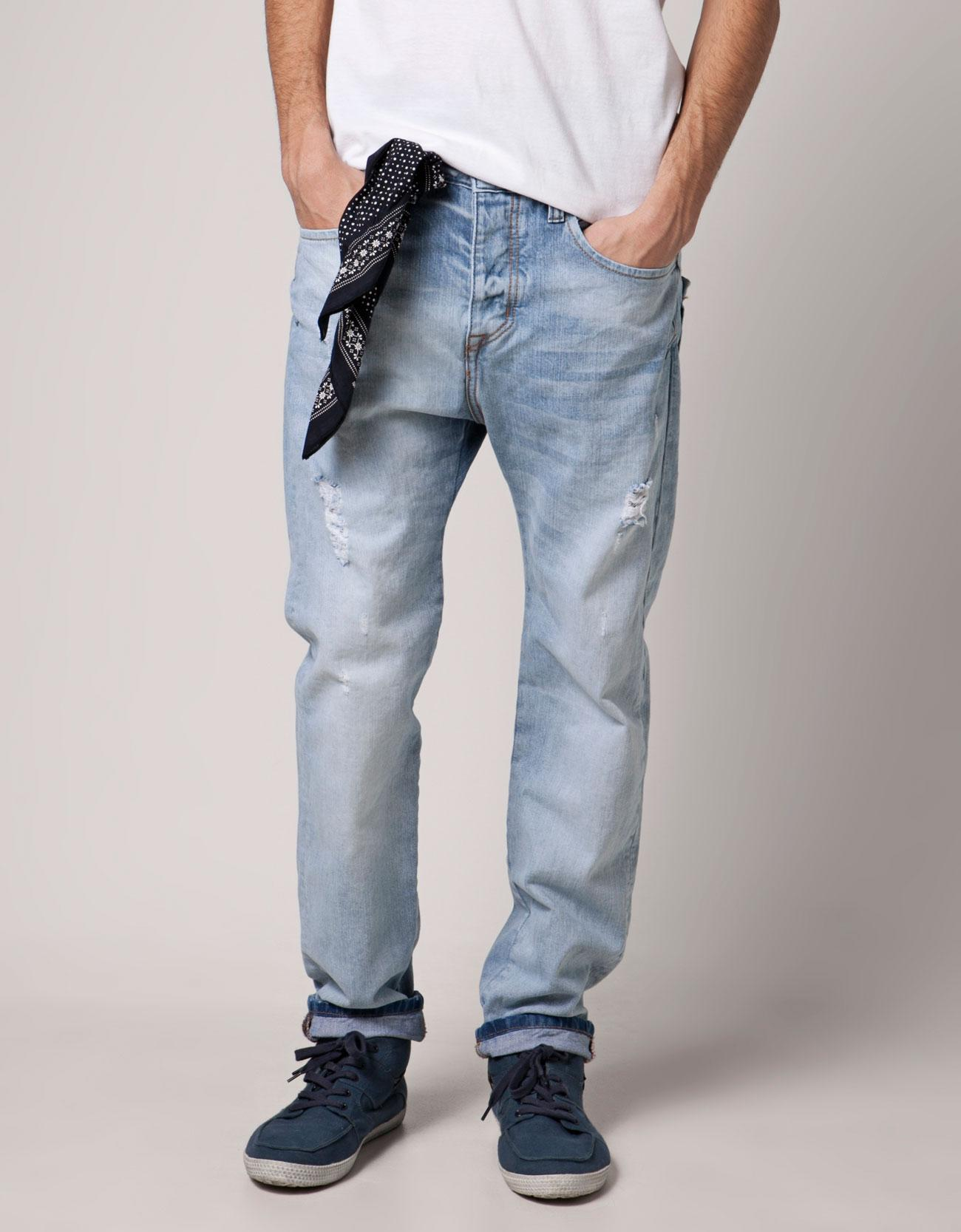 Bershka Russian Federation - Jeans with bandanna